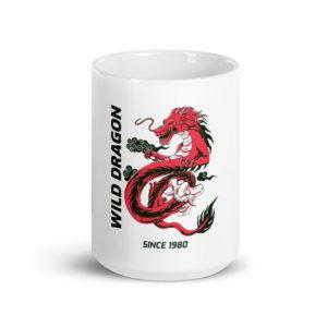 wild dragon coffee mug